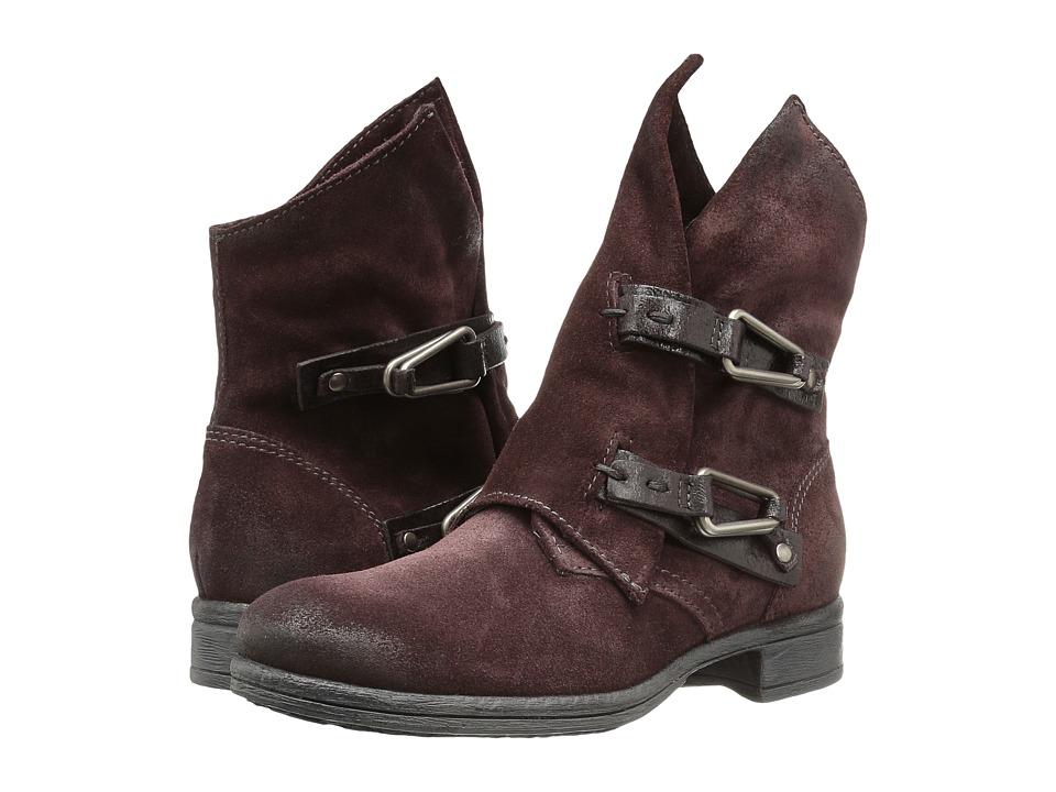 Miz Mooz - Yeats (Wine) Women's Boots