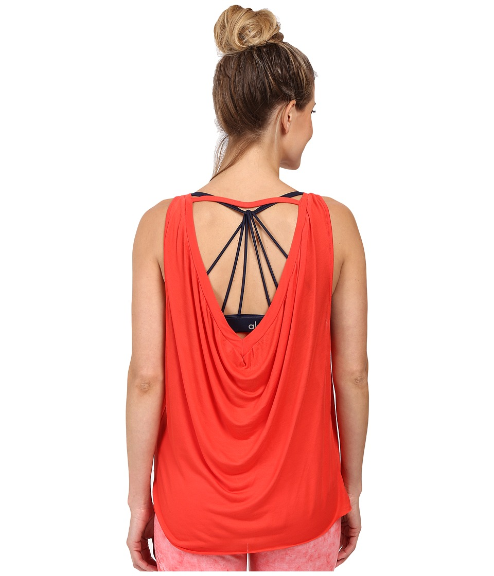 ALO - Passage Tank Top (Poppy) Women's Sleeveless