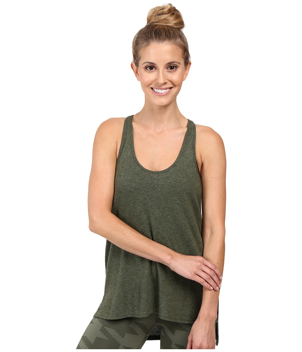 ALO - Cozy Tank Top (Jungle Heather) Women's Sleeveless