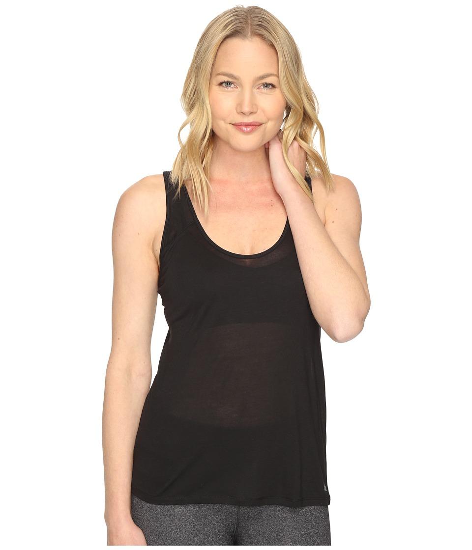 ALO - Geometric Tunic (Black) Women's Clothing