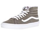 SK8-Hi Slim ((Suede/Canvas) Grape Leaf/True White) Skate Shoes