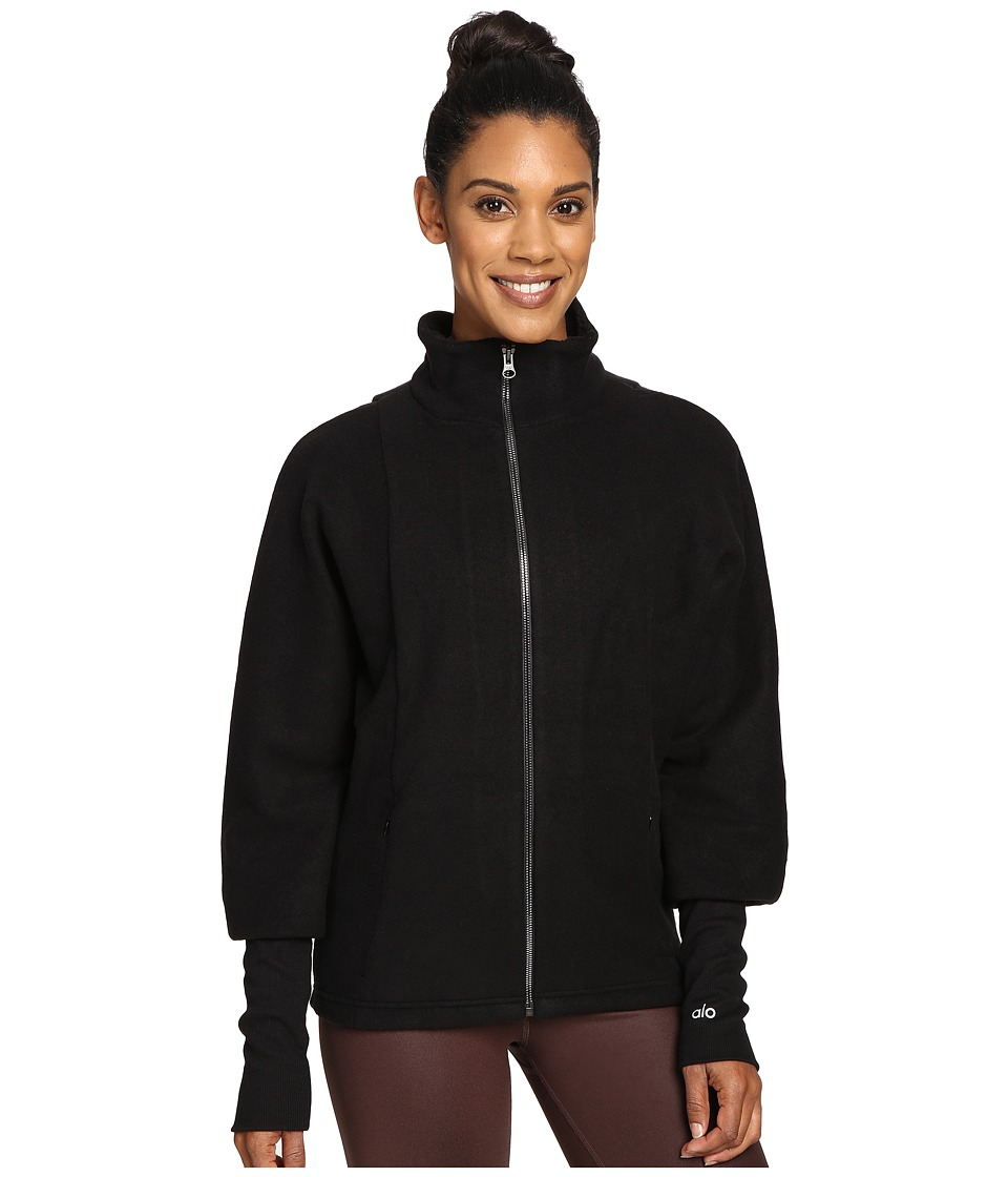 ALO - Dream Jacket (Black) Women's Coat
