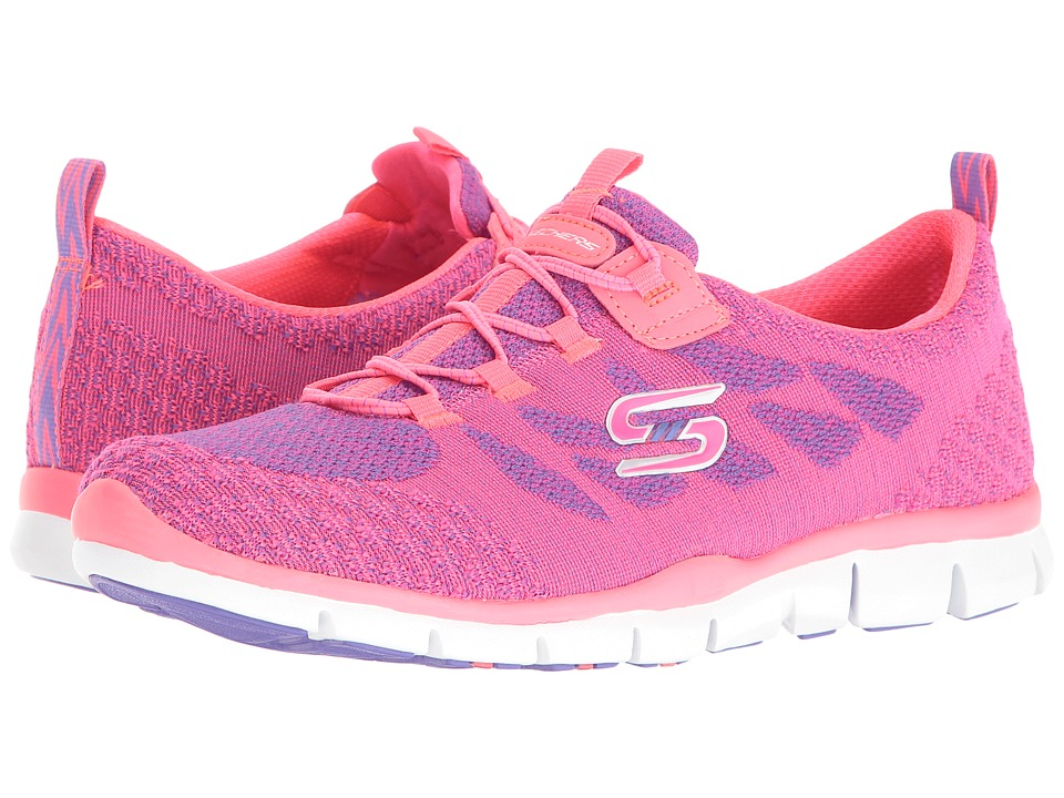 SKECHERS - Gratis - Sleek Chic (Pink/Purple) Women's Shoes