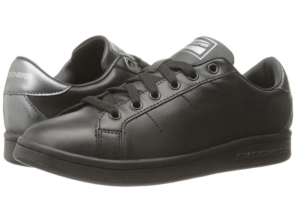 SKECHERS - Onix - Kort Classix (Black) Women's Lace up casual Shoes
