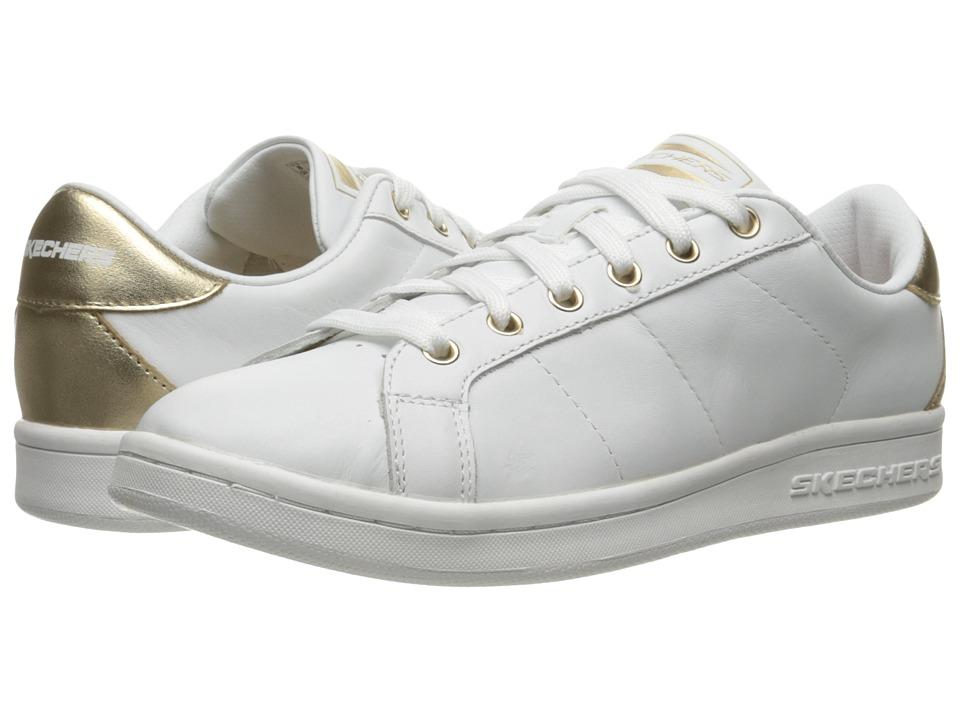 BOBS from SKECHERS - Onix - Kort Classix (White/Gold) Women
