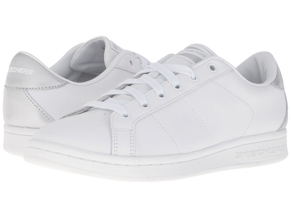 SKECHERS - Onix - Kort Classix (White) Women's Lace up casual Shoes