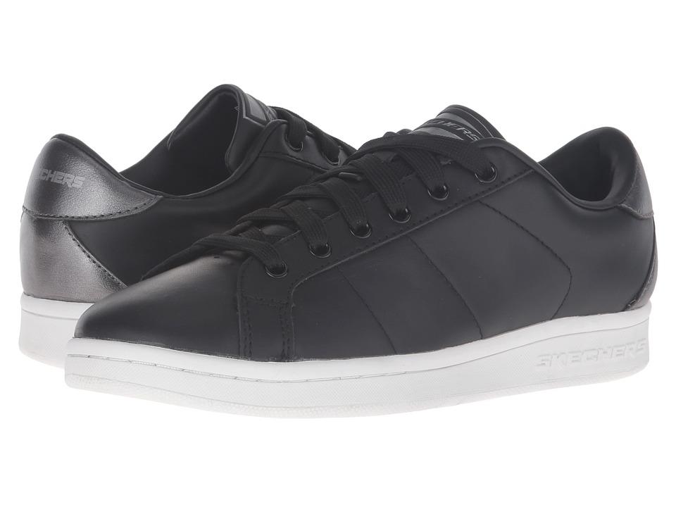 SKECHERS - Onix - Kort Classix (Black/White) Women's Lace up casual Shoes