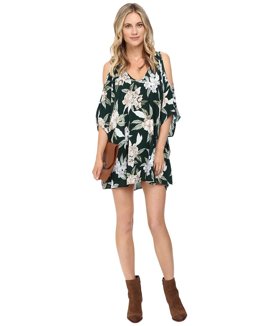 Show Me Your Mumu - Peta-Boo Tunic (Forest Florist Cloud) Women's Blouse