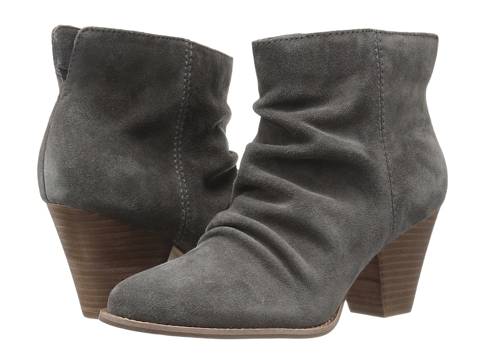 Splendid - Rodeo (Slate Suede) Women's Zip Boots