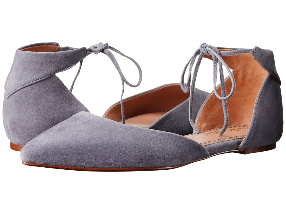 Splendid - Annabelle (Stell Blue Suede) Women's Dress Flat Shoes