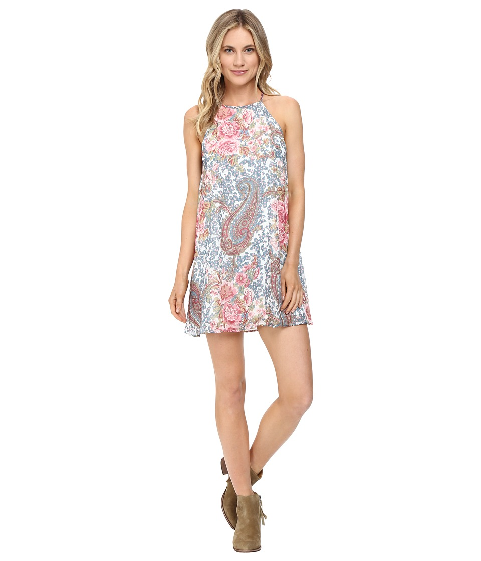 Show Me Your Mumu - Gomez Mini Dress (Grey Gardens) Women's Dress