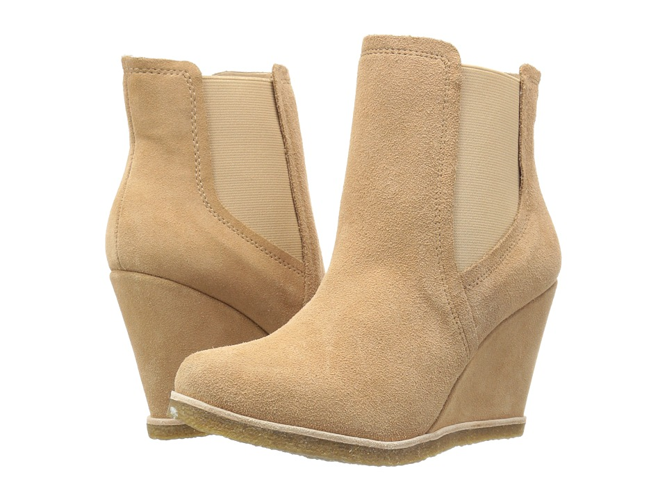 Splendid - Tara (Nut Suede) Women's Wedge Shoes