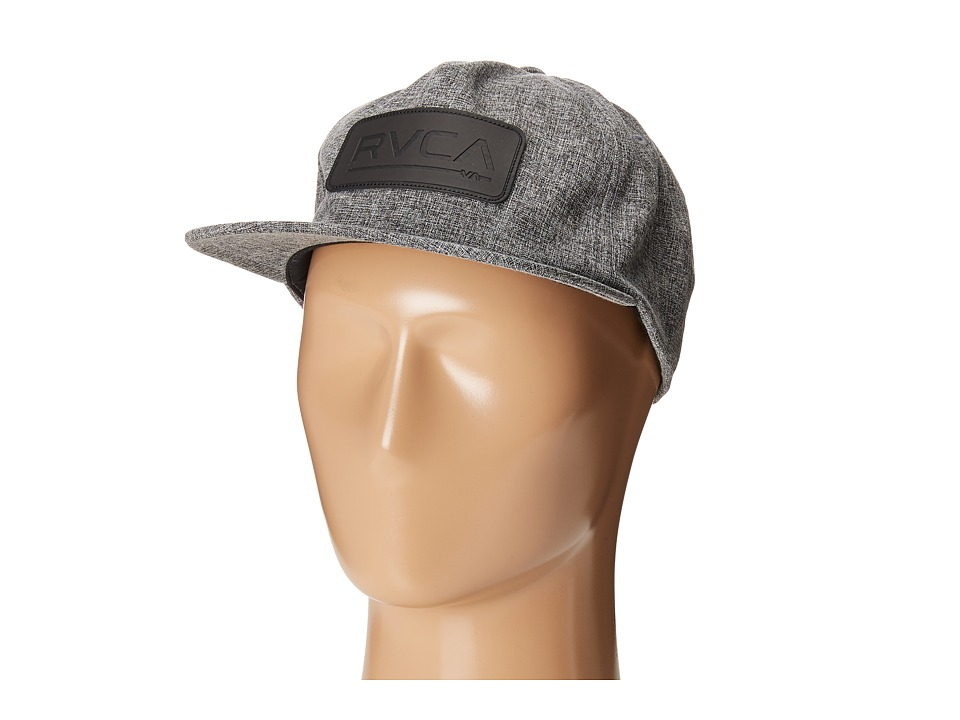 RVCA - Offset Five Panel Hat (Grey) Baseball Caps