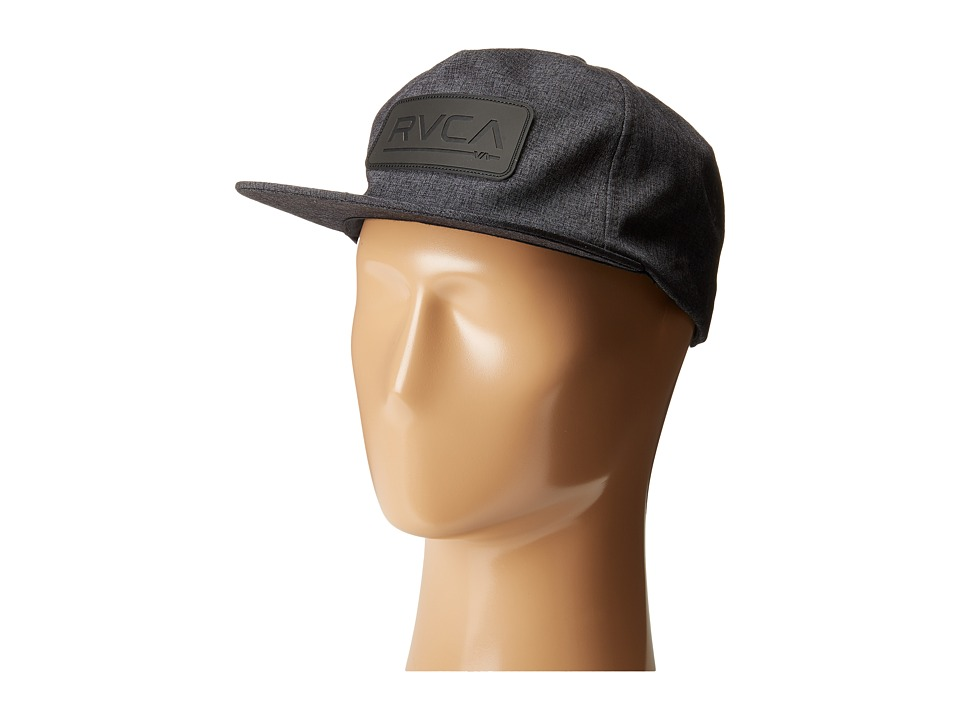 RVCA - Offset Five Panel Hat (Black) Baseball Caps