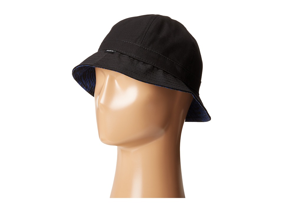 RVCA - Tunnels Bucket Hat (Black) Bucket Caps