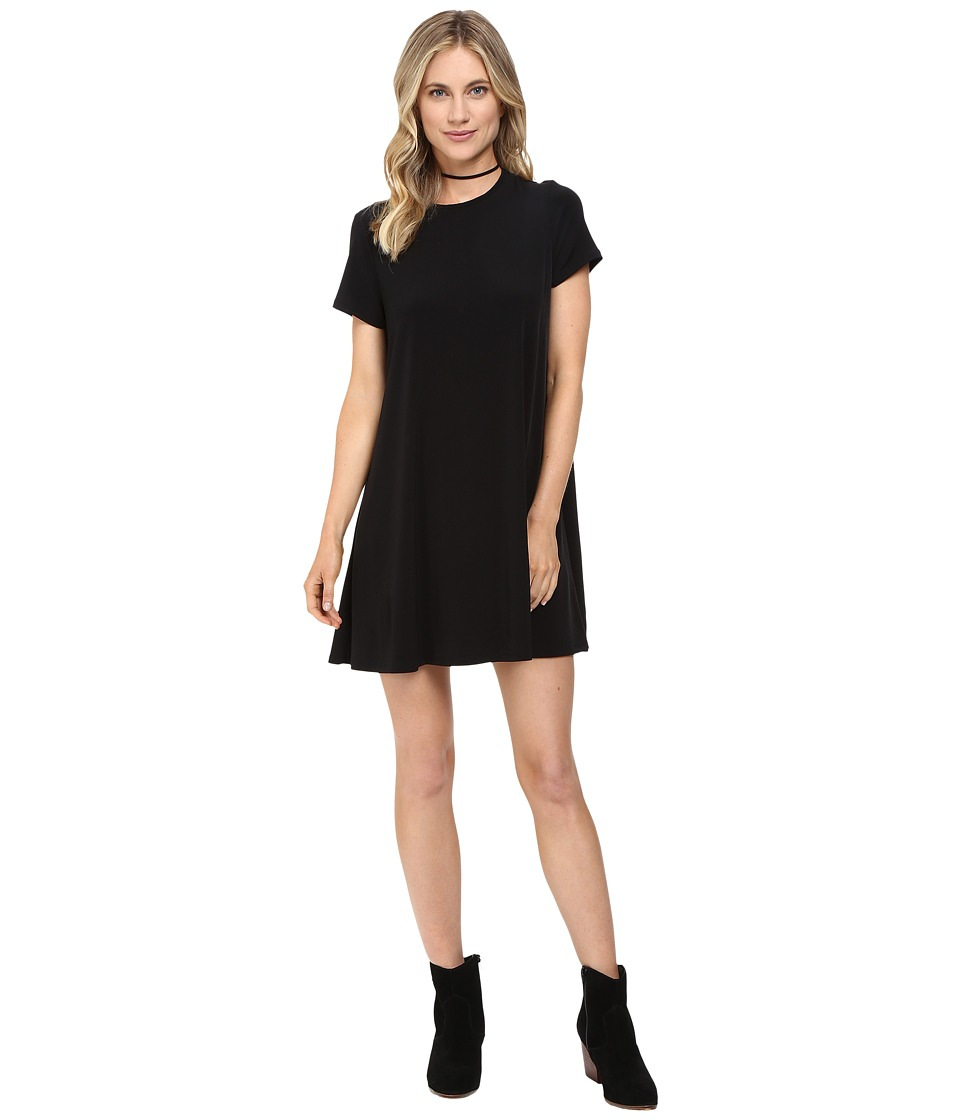 Show Me Your Mumu - Em Mini Dress (Black Spandy) Women's Dress
