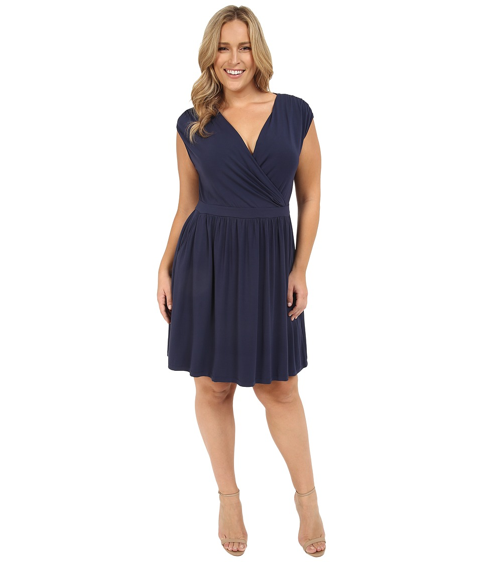Tart - Plus Size Valentia Dress (Black Iris) Women's Dress