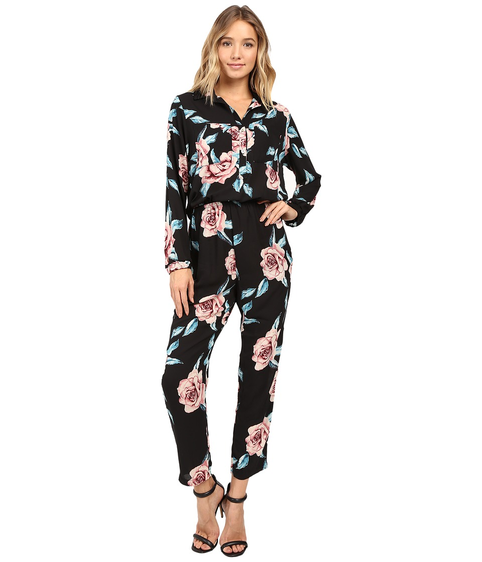 Show Me Your Mumu - The Gadget Jumpsuit (Flower Hour) Women's Jumpsuit & Rompers One Piece