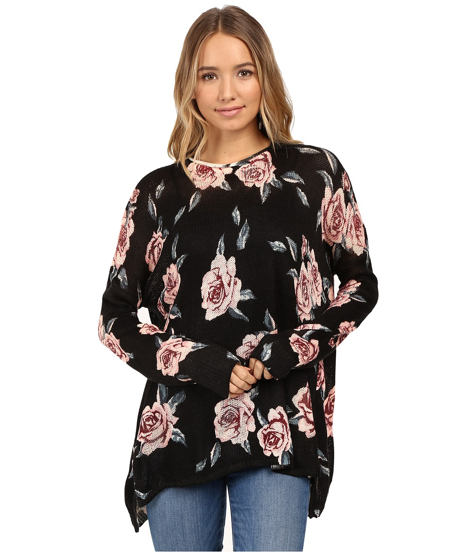 Show Me Your Mumu - Bonfire Sweater (Flower Hour) Women's Sweater