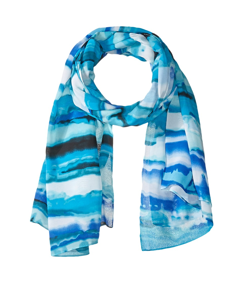 Calvin Klein - Painted Stripe Scarf (Regatta) Scarves