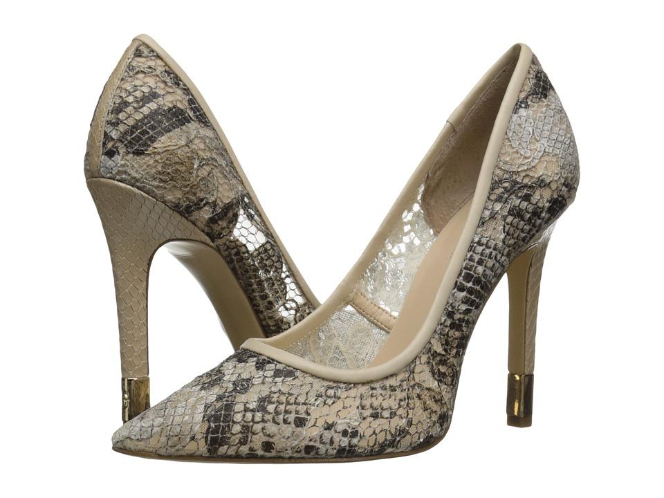 GUESS - Babbitt (Natural Multi Fabric) High Heels