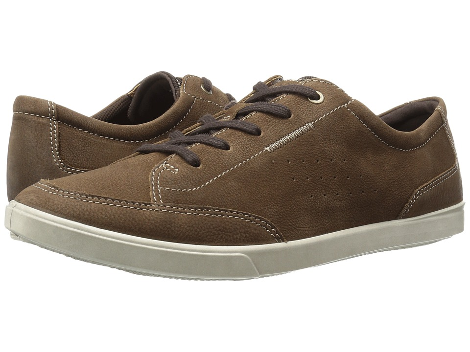 ECCO - Collin Classic Tie (Camel Cow Nubuck) Men's Lace up casual Shoes