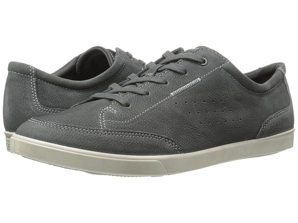 ECCO - Collin Classic Tie (Dark Shadow Cow Nubuck) Men's Lace up casual Shoes