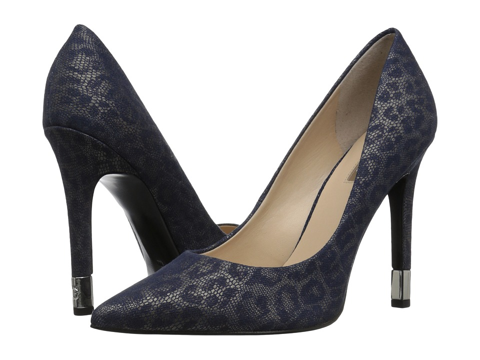GUESS - Babbitta (Blue Leopard) Women's Shoes