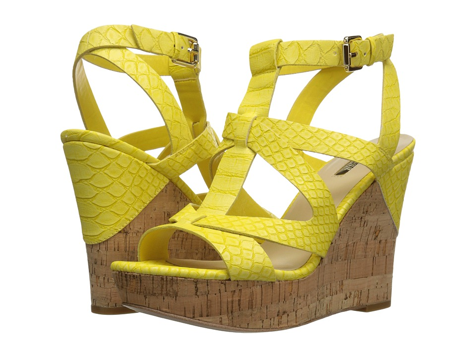 GUESS - Harlea (Yellow) Women's Shoes
