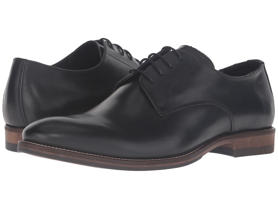 Dune London Brummie (Black Leather) Men