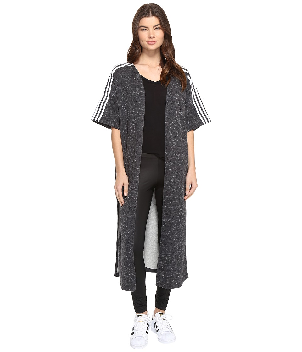 adidas Originals - Originals Cape (Dark Grey Heather) Women's Clothing
