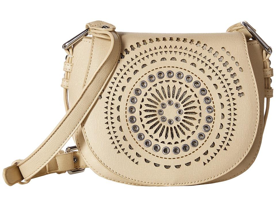 Chinese Laundry - AnnaBelle Perforated Adjustable Crossbody (Blush) Cross Body Handbags