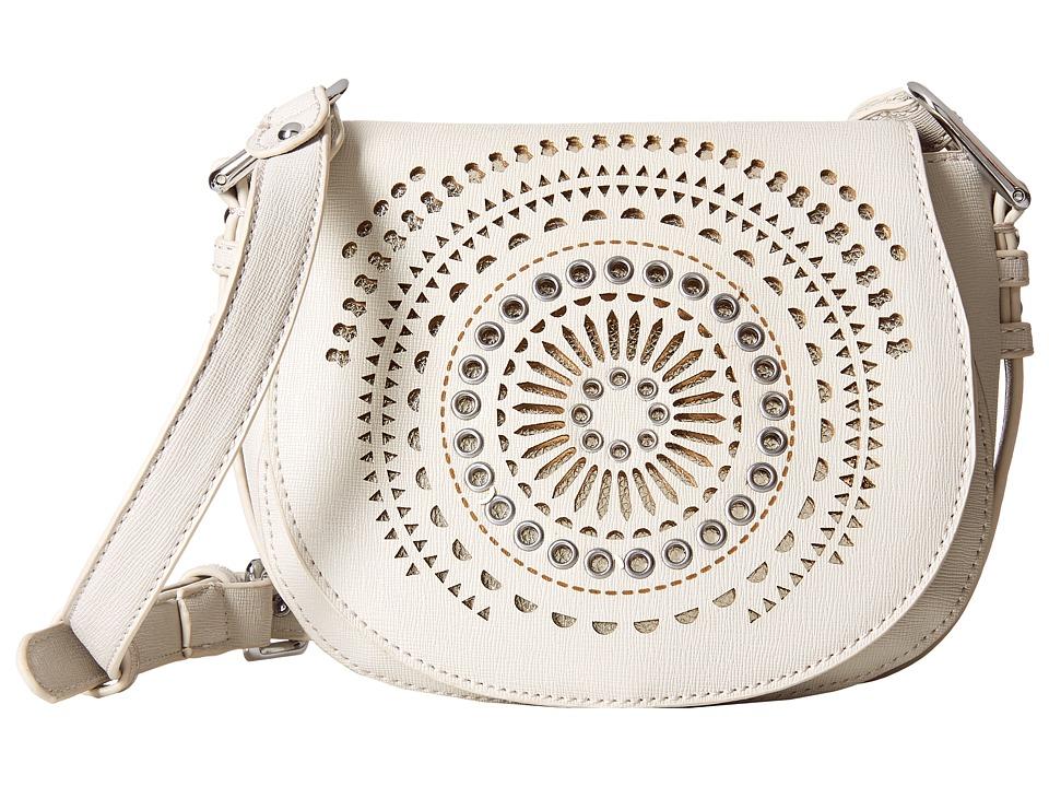 Chinese Laundry - AnnaBelle Perforated Adjustable Crossbody (Grey) Cross Body Handbags
