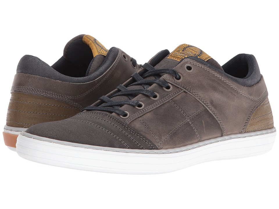 Dune London Temper (Grey Leather) Men