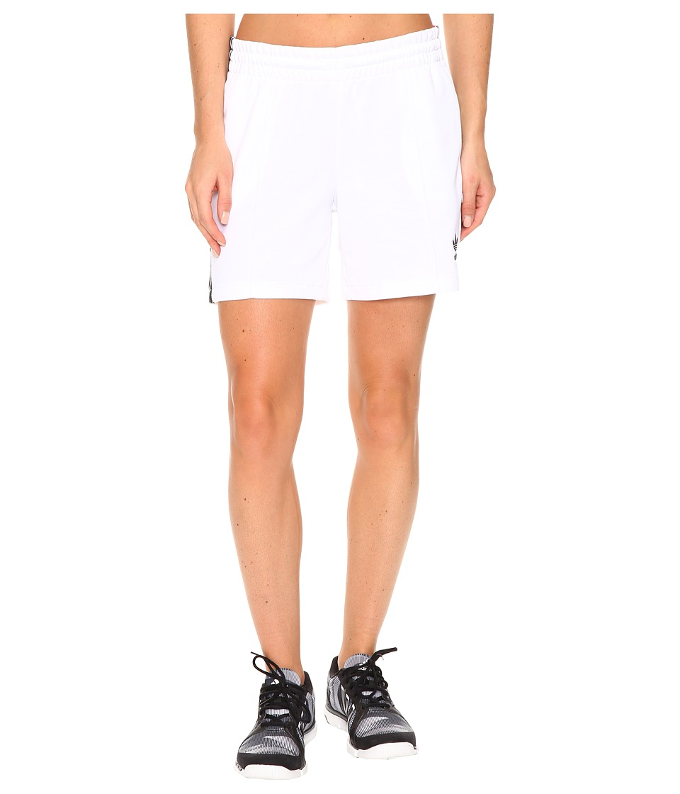 adidas Originals - Firebird Shorts (White) Women's Shorts