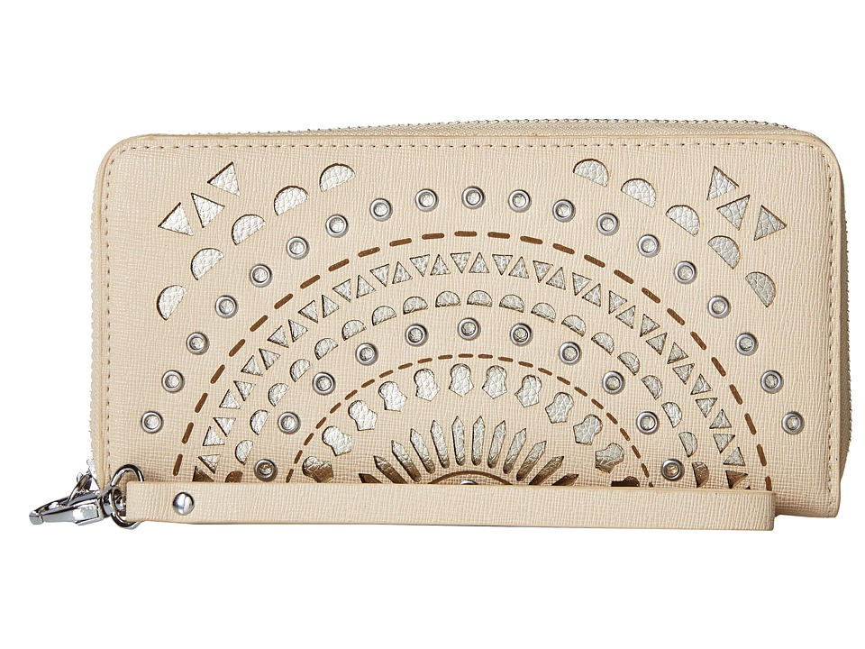 Chinese Laundry - AnnaBelle Perforated Wallet (Blush) Wallet Handbags