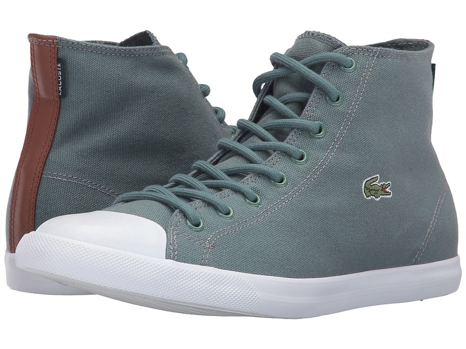 Lacoste - L27 Mid Sep (Grey/Grey) Men's Shoes