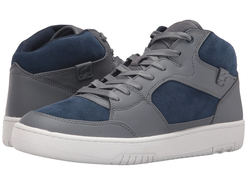 Lacoste - Wytham GLM (Dark Grey/Navy) Men's Shoes