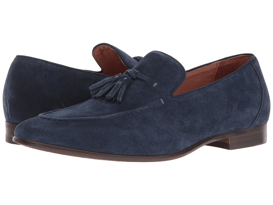 Dune London - Result (Navy Suede) Men's Flat Shoes