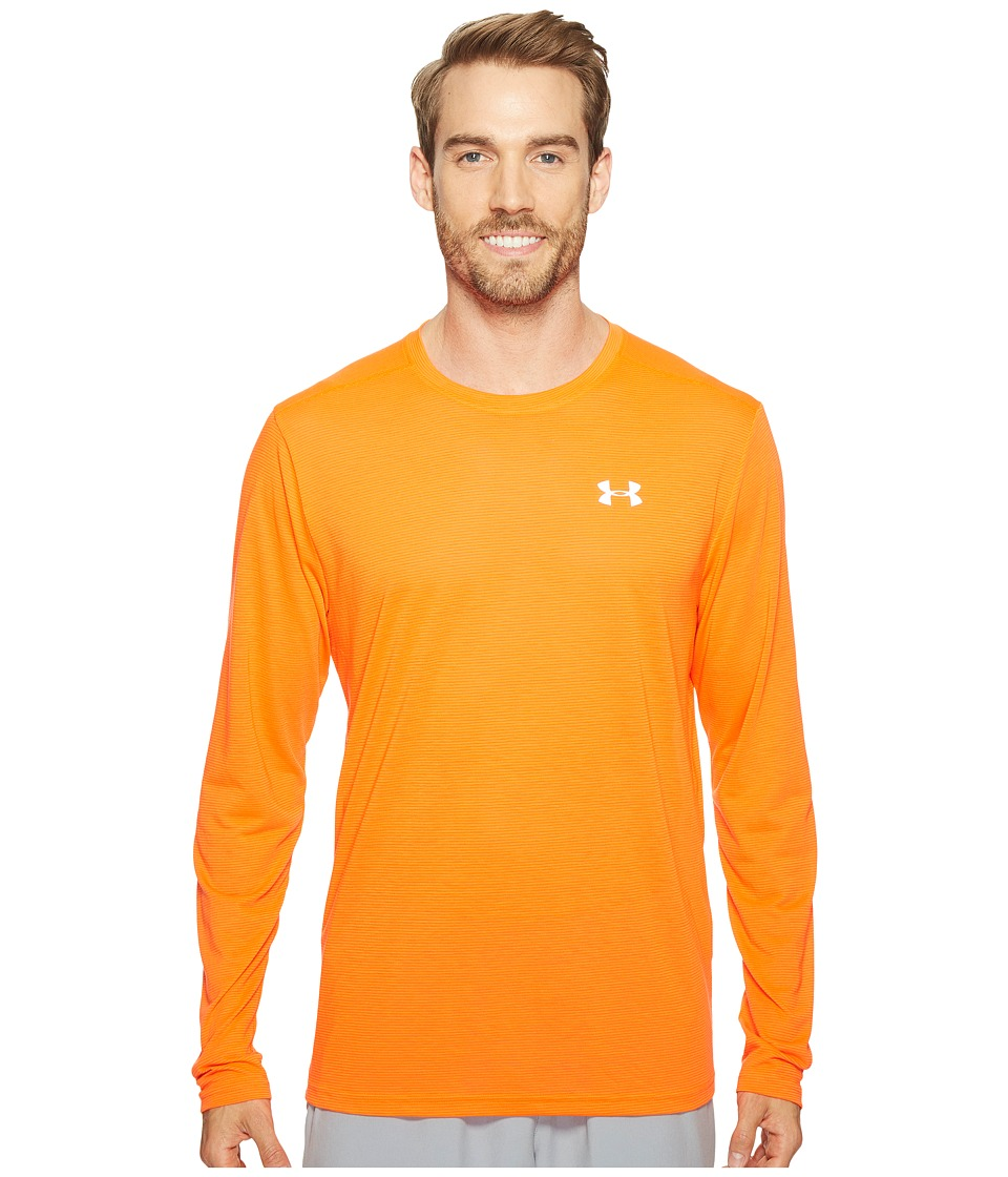 Under Armour - UA Streaker Longsleeve Tee (Phoenix Fire/Phoenix Fire) Men's Long Sleeve Pullover