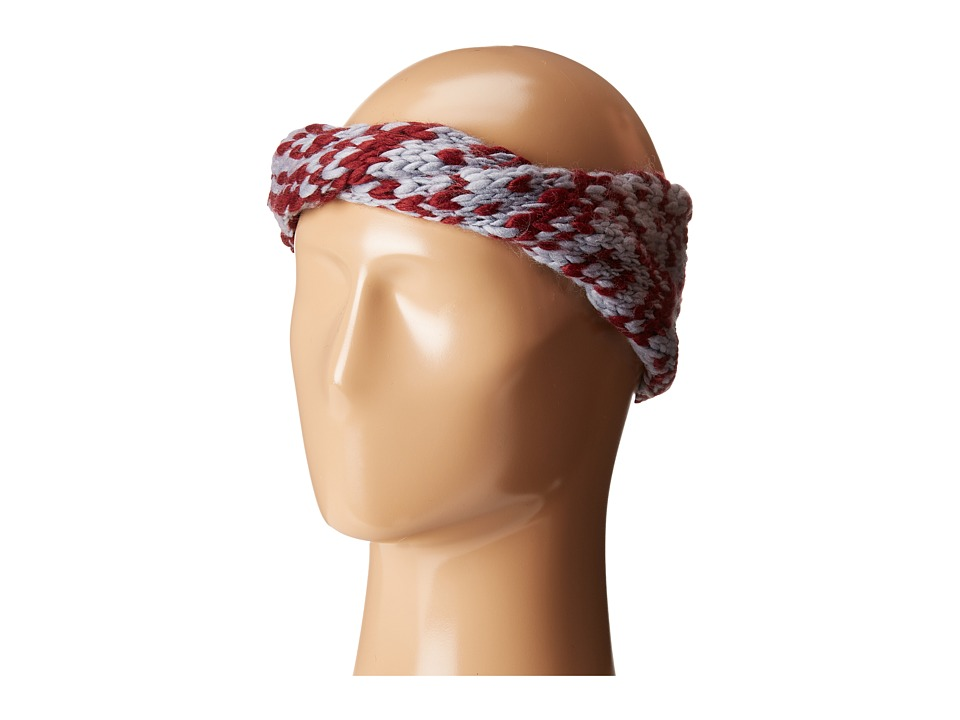 BCBGeneration - Two-Tone Twisted Headwrap (Wineberry) Caps