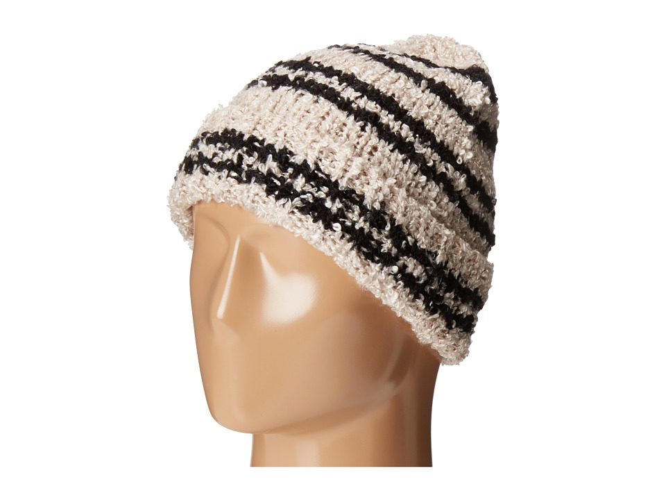 BCBGeneration - Slouchy Nubby Beanie (Black) Beanies