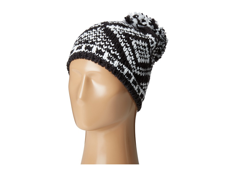 BCBGeneration - Mixed Fair Isle Beanie (Black) Beanies