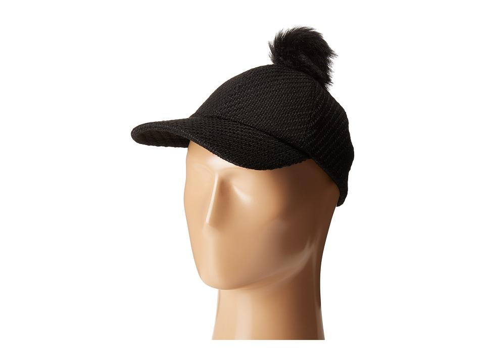 BCBGeneration - Pom Pom Baseball (Black) Baseball Caps