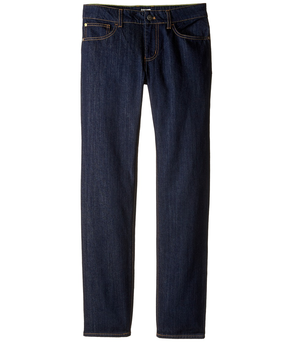 Armani Junior - Regular Fit Dark Wash Denim in Denim Indaco (Toddler/Little Kids/Big Kids) (Denim Indaco) Boy's Jeans