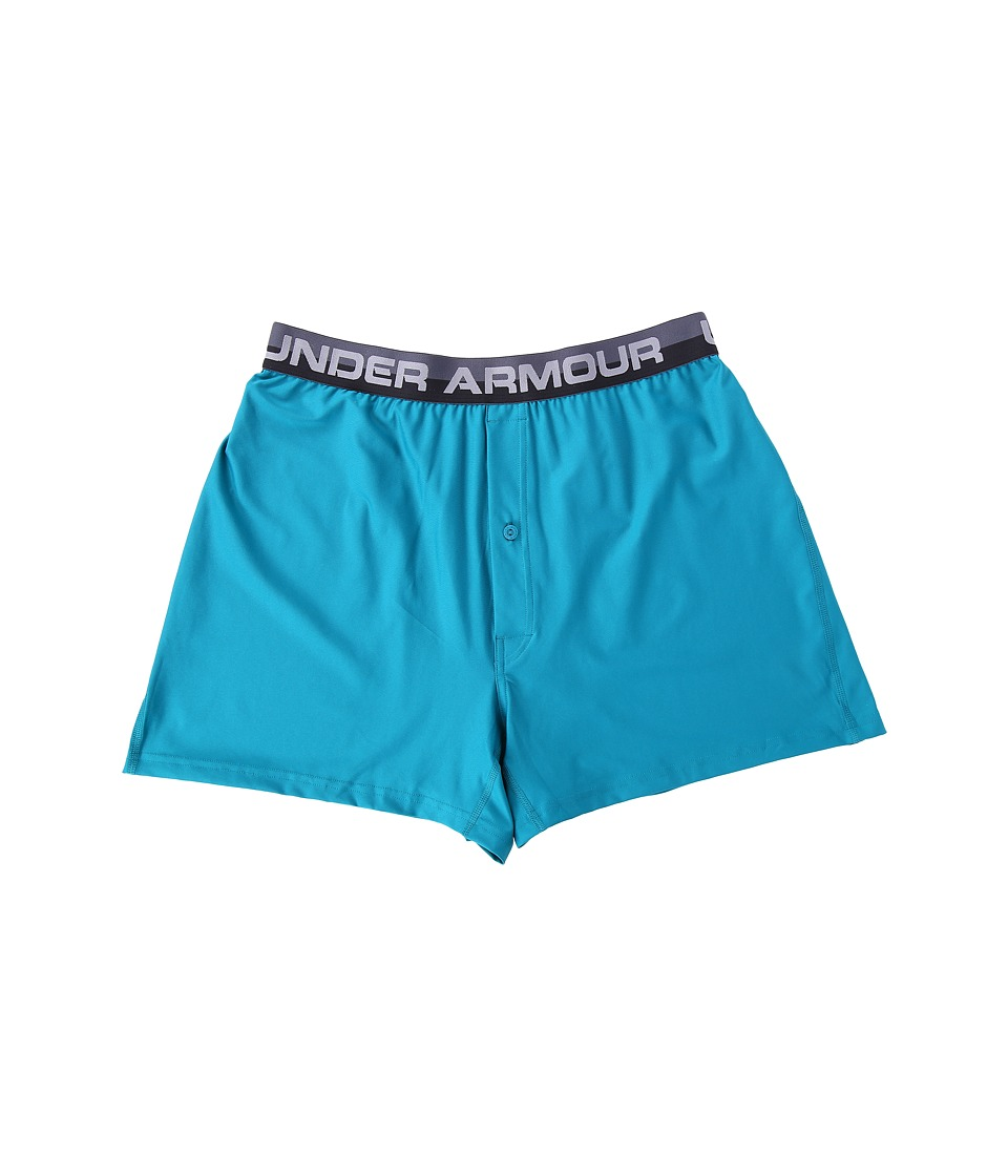 Under Armour - UA Original Series Boxer Shorts (Turquoise Sky) Men's Underwear