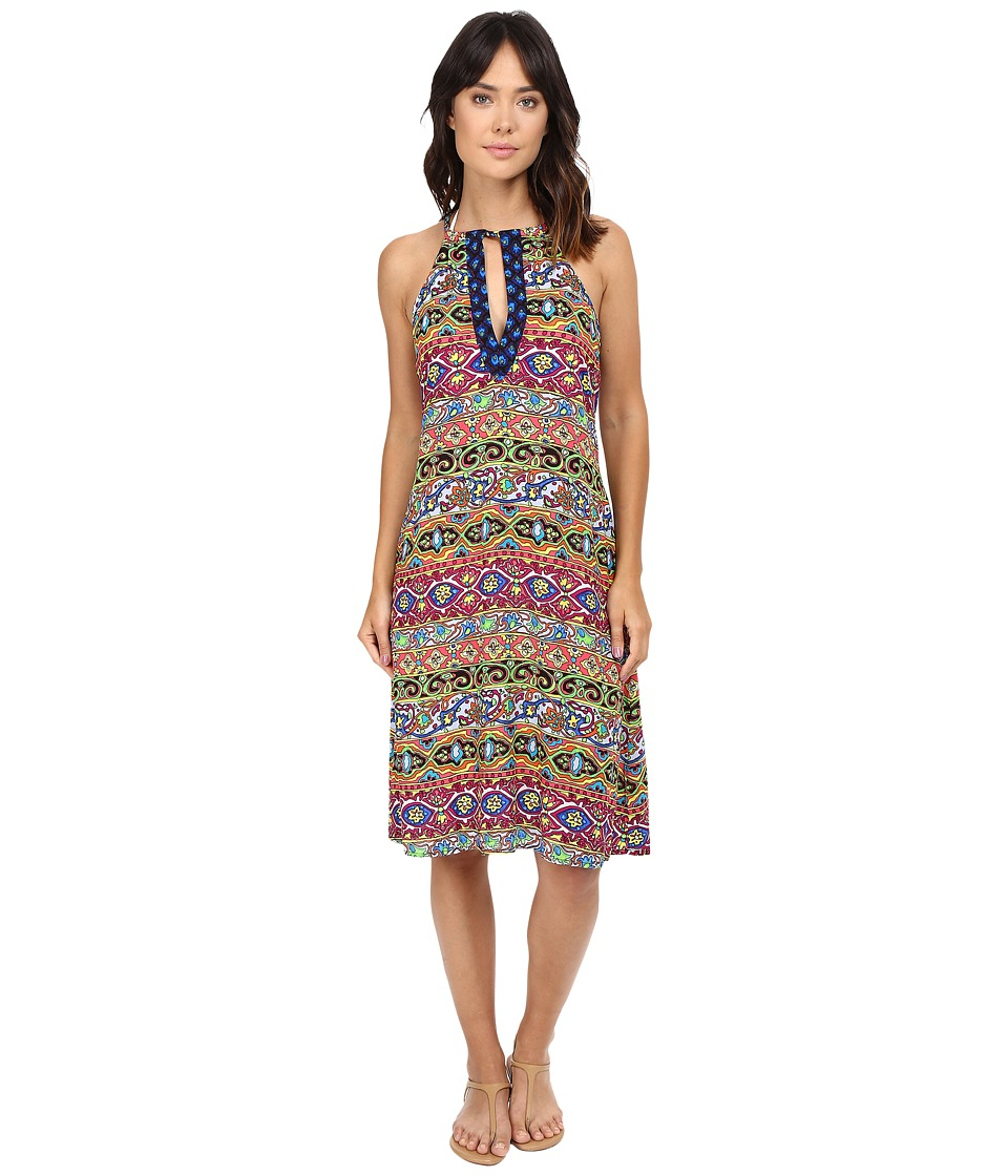 Nanette Lepore Carnaval Covers Midi Dress Cover-Up (Multi) Women