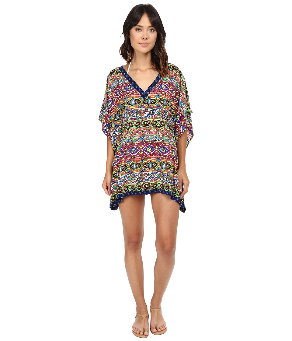Nanette Lepore - Carnaval Covers Caftan Cover-Up (Multi) Women's Swimwear