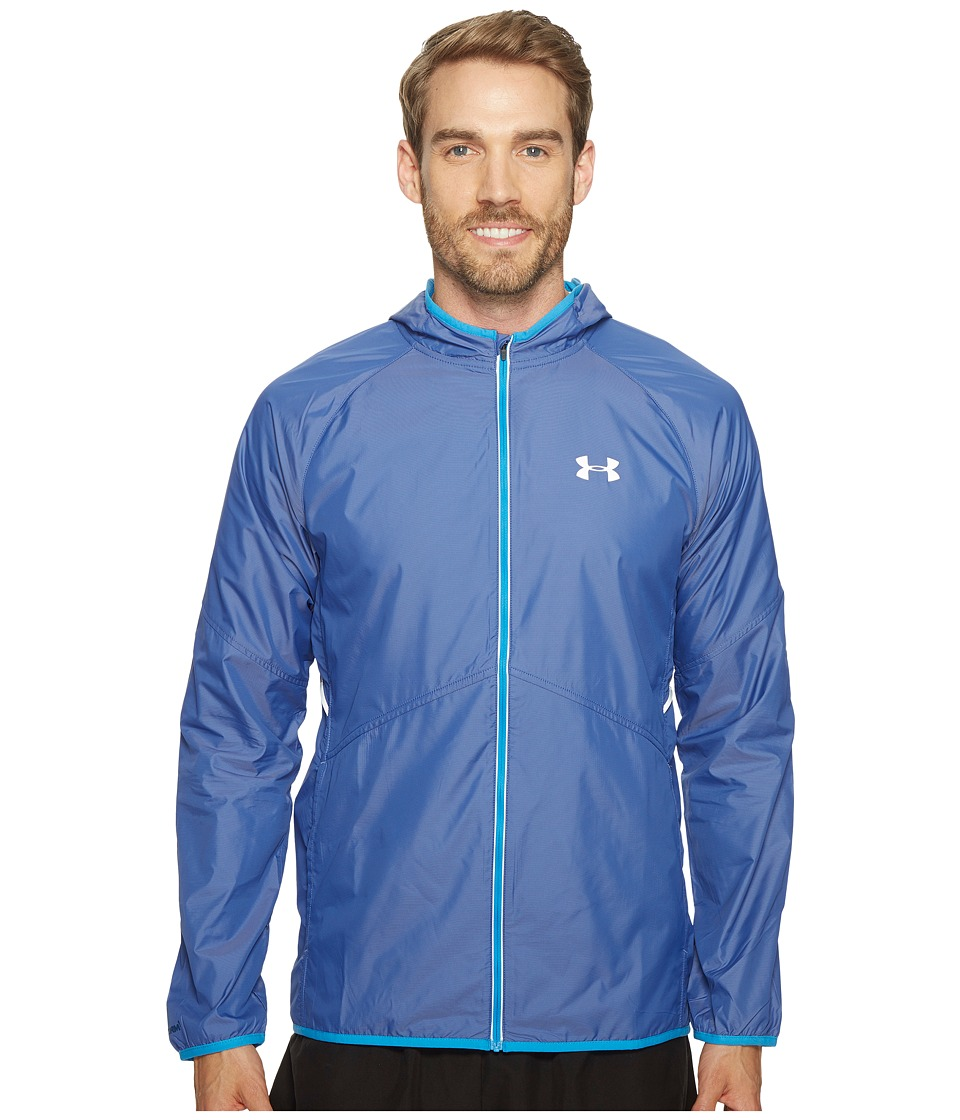 Under Armour - Nobreaks Storm 1 Jacket (Blackout Navy/Brilliant Blue) Men's Coat