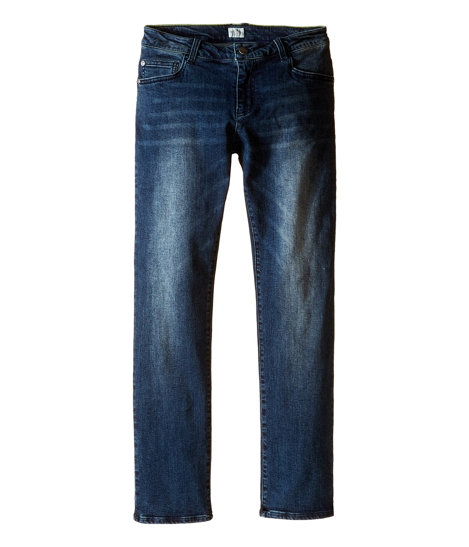 Armani Junior - Regular Fit Light Distressed Denim in Denim Indaco (Big Kids) (Denim Indaco) Boy's Jeans